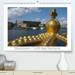 Stockholm – Licht des Nordens (Premium, hochwertiger DIN A2 Wandkalender 2021, Kunstdruck in Hochglanz) von Dietsch,  Monika