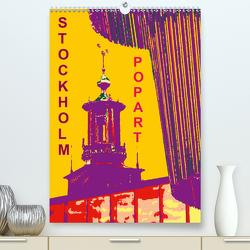 STOCKHOLM POP-ART (Premium, hochwertiger DIN A2 Wandkalender 2021, Kunstdruck in Hochglanz) von Sock,  Reinhard