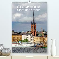 STOCKHOLM Stadt der Kronen (Premium, hochwertiger DIN A2 Wandkalender 2021, Kunstdruck in Hochglanz) von Sock,  Reinhard