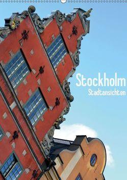Stockholm – Stadtansichten (Wandkalender 2019 DIN A2 hoch)