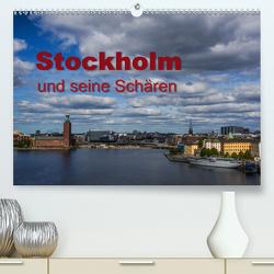 Stockholm und seine Schären (Premium, hochwertiger DIN A2 Wandkalender 2021, Kunstdruck in Hochglanz) von Drees,  Andreas, www.drees.dk