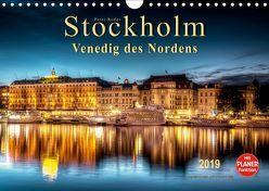 Stockholm – Venedig des Nordens (Wandkalender 2019 DIN A4 quer)