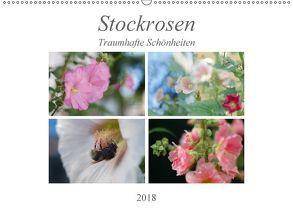 Stockrosen – Traumhafte Schönheiten (Wandkalender 2018 DIN A2 quer) von Kupfer,  Kai