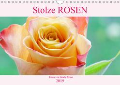 Stolze Rosen (Wandkalender 2019 DIN A4 quer) von Kruse,  Gisela