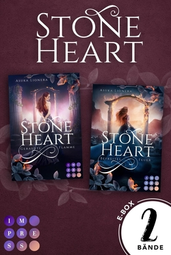"""Stoneheart: Sammelband der mystisch-rauen Fantasy-Buchserie """"Stoneheart"""" von Lionera,  Asuka"""