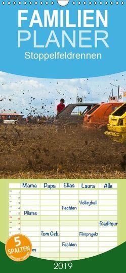 Stoppelfeldrennen – Familienplaner hoch (Wandkalender 2019 , 21 cm x 45 cm, hoch) von J. Sülzner [[NJS-Photographie]],  Norbert