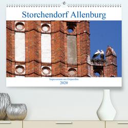 Storchendorf Allenburg – Impressionen aus Ostpreußen (Premium, hochwertiger DIN A2 Wandkalender 2020, Kunstdruck in Hochglanz) von von Loewis of Menar,  Henning