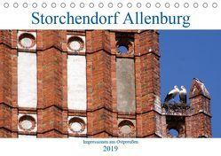 Storchendorf Allenburg – Impressionen aus Ostpreußen (Tischkalender 2019 DIN A5 quer) von von Loewis of Menar,  Henning