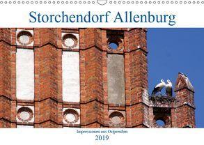 Storchendorf Allenburg – Impressionen aus Ostpreußen (Wandkalender 2019 DIN A3 quer) von von Loewis of Menar,  Henning