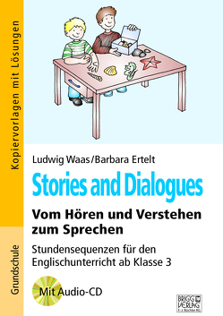 Stories and Dialogues von Ertelt,  Barbara, Waas,  Ludwig
