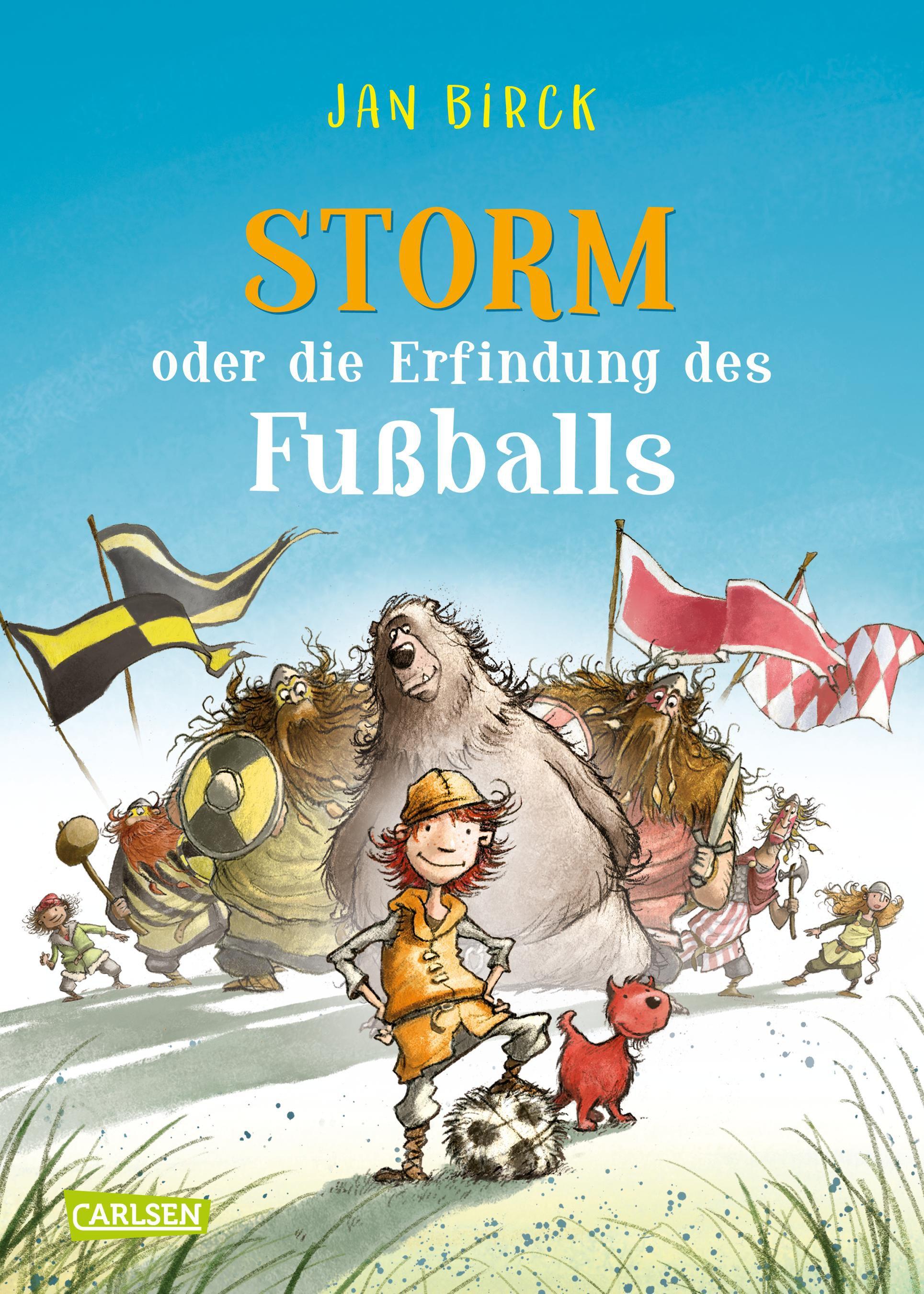 Storm oder die erfindung des fu balls von birck jan for Die kinder des