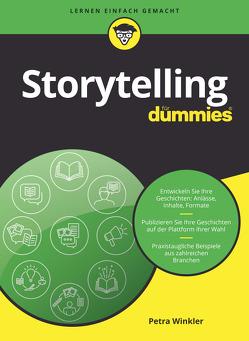 Storytelling für Dummies von Winkler,  Petra