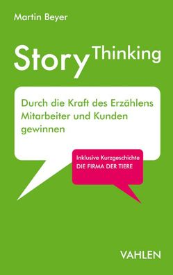 StoryThinking von Beyer,  Martin