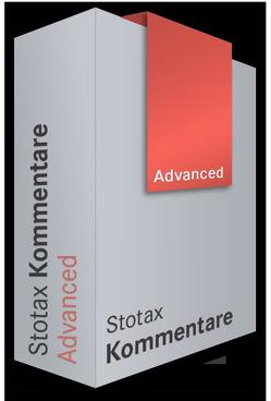 Stotax Kommentare Advanced