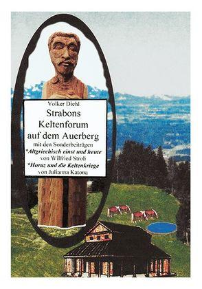 Strabons Keltenforum auf dem Auerberg von Diehl,  Volker, Katona,  Dr. Julianna, Stroh,  Prof. Dr. Wilfried