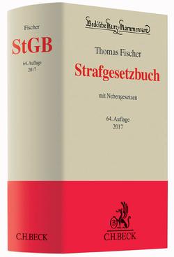 Strafgesetzbuch von Fischer,  Thomas