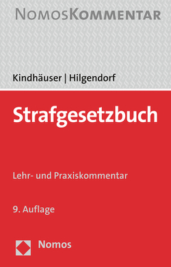 Strafgesetzbuch von Hilgendorf,  Eric, Kindhäuser,  Urs