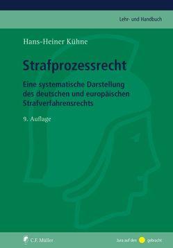 Strafprozessrecht von Kühne,  Hans-Heiner