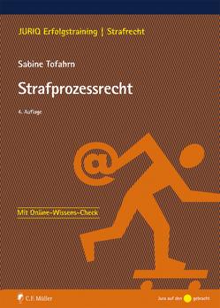 Strafprozessrecht von Tofahrn,  Sabine