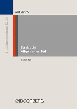 Strafrecht Allgemeiner Teil von Zieschang,  Frank