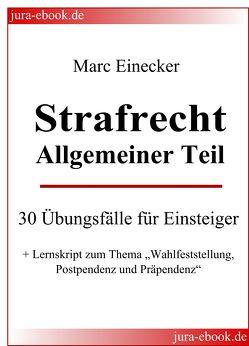 Strafrecht Allgemeiner Teil von Einecker,  Marc