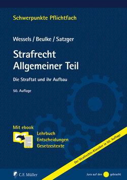 Strafrecht Allgemeiner Teil von Beulke,  Werner, Satzger,  Helmut, Wessels,  Johannes