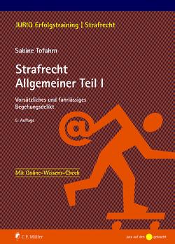 Strafrecht Allgemeiner Teil I von Tofahrn,  Sabine