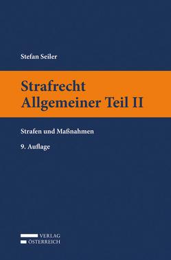 Strafrecht Allgemeiner Teil II von Seiler,  Stefan