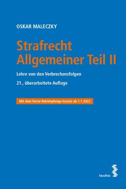 Strafrecht Allgemeiner Teil II von Maleczky,  Oskar