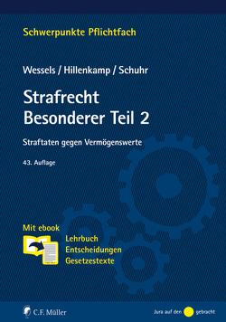 Strafrecht Besonderer Teil/2 von Hillenkamp,  Thomas, Schuhr,  Jan C., Wessels,  Johannes