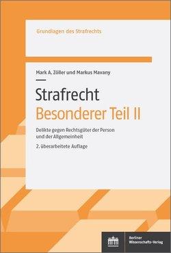 Strafrecht. Besonderer Teil II von Mavany,  Markus, Zöller,  Mark A.