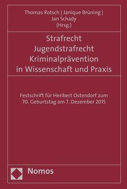 Strafrecht – Jugendstrafrecht – Kriminalprävention in Wissenschaft und Praxis von Brüning,  Janique, Rotsch,  Thomas, Schady,  Jan