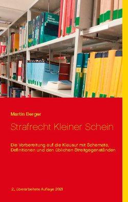 Strafrecht Kleiner Schein von Berger,  Martin