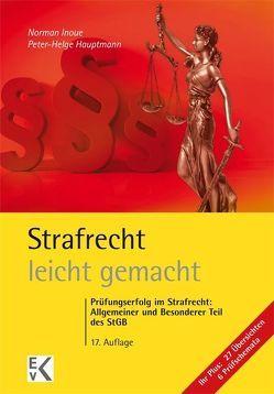 Strafrecht – leicht gemacht® von Hassenpflug,  Helwig, Hauptmann,  Peter-Helge, Inoue,  Norman