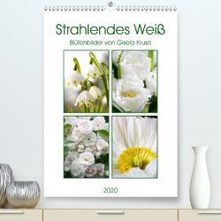 Strahlendes Weiß Blütenbilder (Premium, hochwertiger DIN A2 Wandkalender 2020, Kunstdruck in Hochglanz) von Kruse,  Gisela
