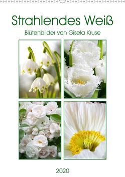 Strahlendes Weiß Blütenbilder (Wandkalender 2020 DIN A2 hoch) von Kruse,  Gisela