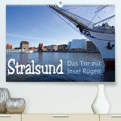 Stralsund. Das Tor zur Insel Rügen (Premium, hochwertiger DIN A2 Wandkalender 2021, Kunstdruck in Hochglanz) von Michalzik,  Paul