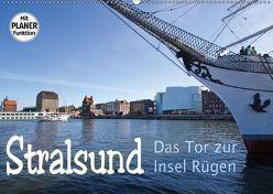 Stralsund. Das Tor zur Insel Rügen (Wandkalender 2018 DIN A2 quer) von Michalzik,  Paul