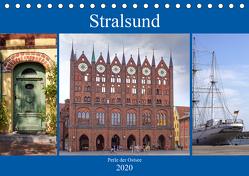Stralsund – Perle der Ostsee (Tischkalender 2020 DIN A5 quer) von Becker,  Thomas