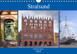 Stralsund – Perle der Ostsee (Wandkalender 2019 DIN A4 quer) von Becker,  Thomas