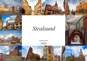 Stralsund Stadtansichten (Wandkalender 2020 DIN A3 quer) von Meutzner,  Dirk