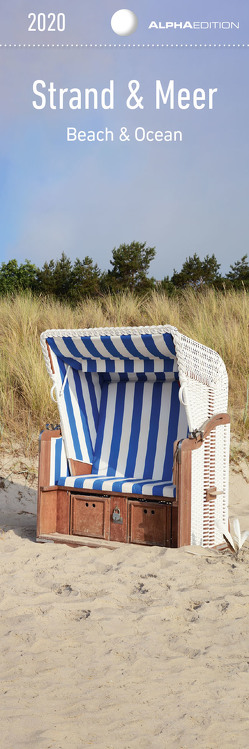 Strand & Meer 2020 – Lesezeichenkalender (5,5 x 16,5) – Beach & Ocean – Küste – Lesehilfe – Geschenkidee von ALPHA EDITION