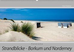 Strandblicke Borkum und Norderney (Wandkalender 2019 DIN A2 quer) von Dreegmeyer,  Hardy