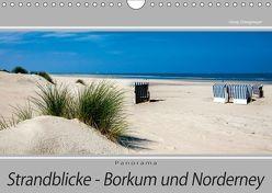 Strandblicke Borkum und Norderney (Wandkalender 2019 DIN A4 quer) von Dreegmeyer,  Hardy