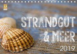 Strandgut und Meer 2019 (Tischkalender 2019 DIN A5 quer) von Haase,  Andrea