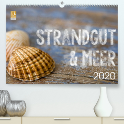 Strandgut und Meer 2020 (Premium, hochwertiger DIN A2 Wandkalender 2020, Kunstdruck in Hochglanz) von Haase,  Andrea