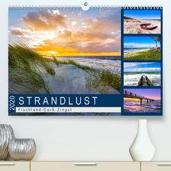 STRANDLUST: Fischland-Darß-Zingst (Premium, hochwertiger DIN A2 Wandkalender 2020, Kunstdruck in Hochglanz) von Dreegmeyer,  Andrea