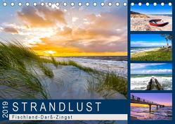STRANDLUST: Fischland-Darß-Zingst (Tischkalender 2019 DIN A5 quer) von Dreegmeyer,  Andrea