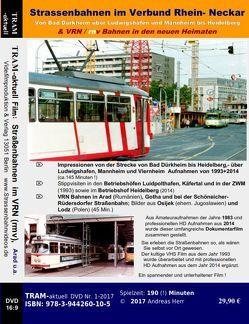 Straßenbahnen im Verbund Rhein- Neckar (VRN/rnv) von Crell,  Manuel, Herr,  Andreas, Weber,  Alex