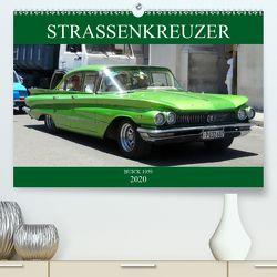 STRASSENKREUZER – BUICK 1959 (Premium, hochwertiger DIN A2 Wandkalender 2020, Kunstdruck in Hochglanz) von von Loewis of Menar,  Henning